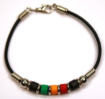 Rasta Greek ceramic beaded jewelry, MB138 Series