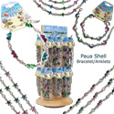 Paua shell bracelet display kit
