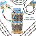 Monster Trendz - Paua shell bracelet display kit