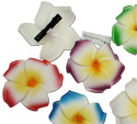 Island flower hibiscus hair clips