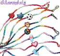 Charmlet friendship bracelets