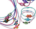 Charm bracelets and necklaces with dozens of great PVC charm bead