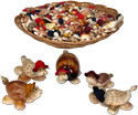 Assorted shell turtle gift souvenirs
