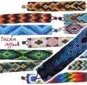 Wide seed bead bracelets