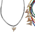 Shark tooth titanium neck