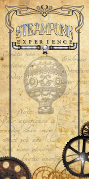 Monster Trendz Steampunk Experience hang card