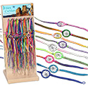 Tropical Rose Peruvian Dream Catcher Friendship Bracelets
