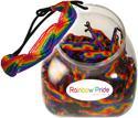 Peruvian rainbow pride woven friendship bracelets