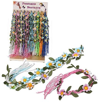 Daisy flower friendship bracelets by Monster Trendz
