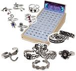 Sterling silver toe ring kit by Monster Trendz
