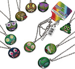 Emoji mood necklaces