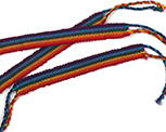 Guatemalan Rainbow Friendship Bracelets