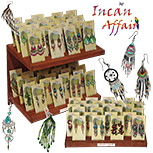 Standing card Incan Affairs earring kit