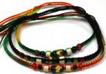 Peruvian Rasta Friendship bracelet
