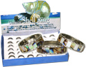 MT120R, Paua and MOP shell band rings