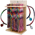 120pc Crystal eart friendship bracelet, DK-218-WL102245