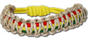 Hemp Rasta stretch bracelet, MC202B-RST