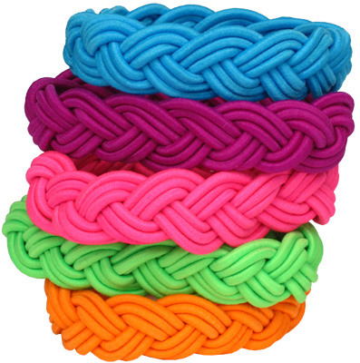 Bright neon stretch sailor bracelets