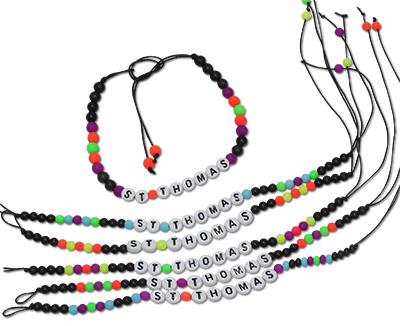 St Thomas bracelets