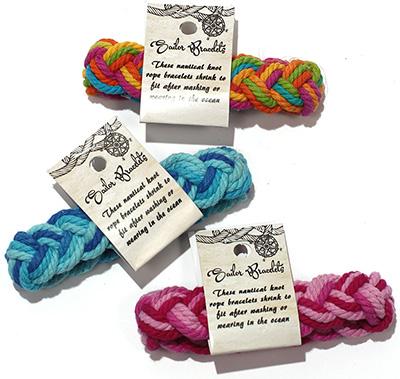 Tie Dye Cotton Sailor bracelets
